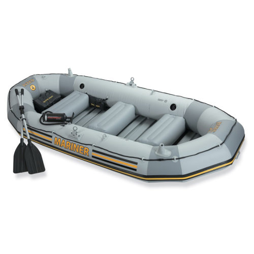 Надувная лодка моряк 328х145х48см/весла алюм./насос ручной