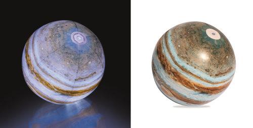 Надувной мяч юпитер с подсветкой 61см от 2лет