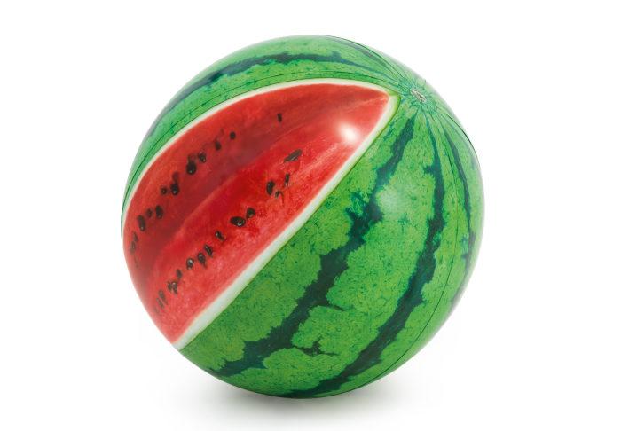 Надувной мяч арбуз 107см от 3лет
