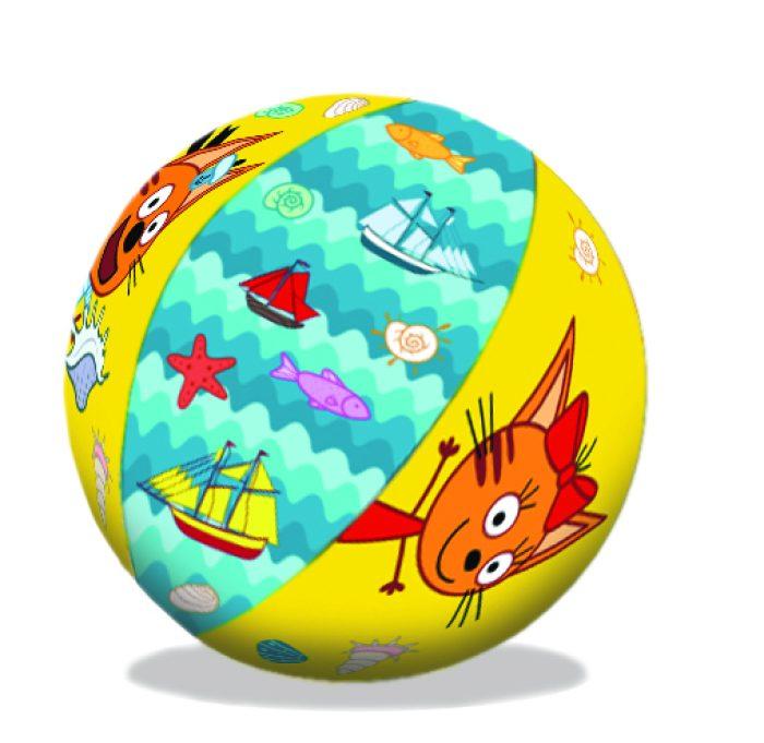 надувной мяч Три Кота 41 см от 1-3лет