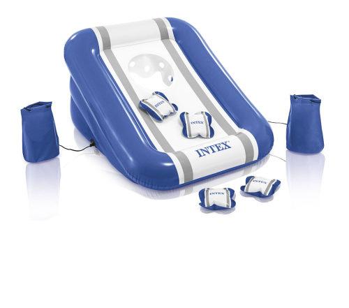 Надувной игровой центр для тренировк.броска, 4 подушк.в компл. 86х71х42см от 6лет