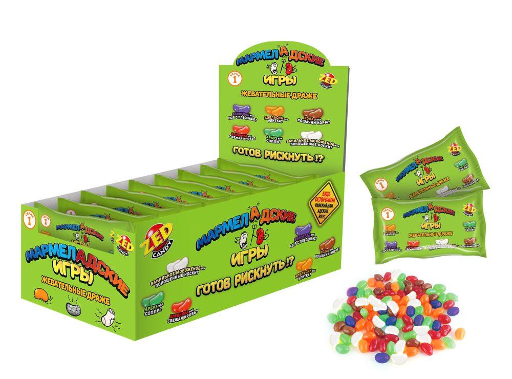 ZED Мармеладские игры пакет 1 серия