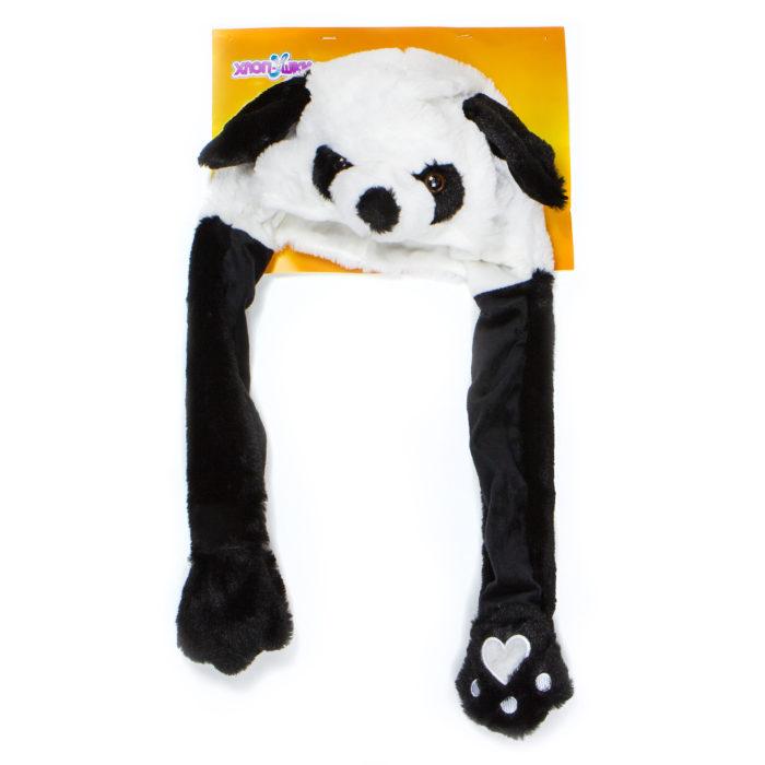 1toy, Хлоп-Ушки, шапка детская Панда