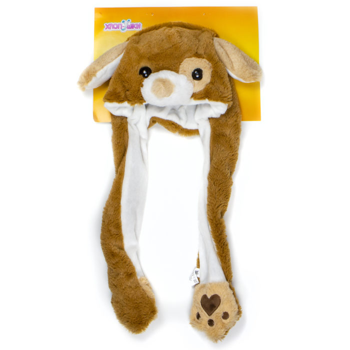 1toy, Хлоп-Ушки, шапка детская Собака