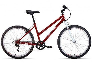 Велосипед ALTAIR MTB HT 26 low (RBKT0MN66019) Красный/белый