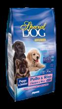 SPECIAL DOG корм для щенков курица с рисом, 15 кг