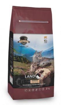 ЛАНДОР для кошек СЕНСИТИВ ягненок с рисом (LANDOR SENSITIVE CAT)