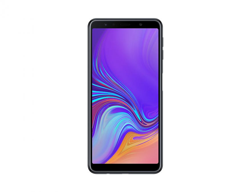 Samsung Galaxy A7 (2018) (черный)