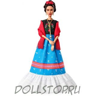 Коллекционная кукла Барби - Фрида Кало - Barbie Inspiring Women Series Frida Kahlo Doll 2018