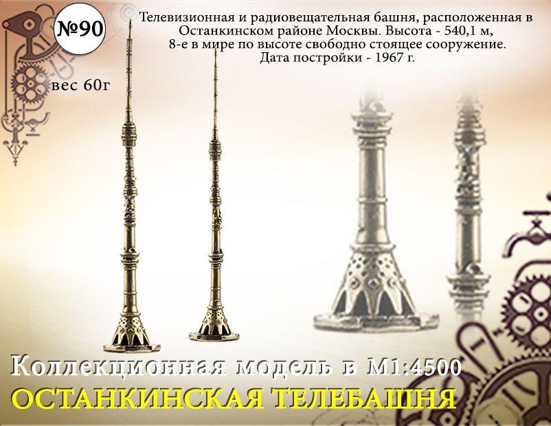 """Форма №90 """"Останкинская телебашня"""""""