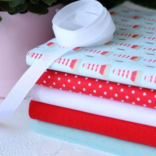 Набор тканей для пошива Морские маяки