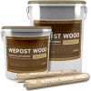 Герметик Акриловый Wepost Wood 7кг Однокомпонентный для Деревянного Домостроения