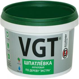 Шпатлевка по Дереву VGT Экстра 0.3кг Акриловая, Универсальная / ВГТ Экстра