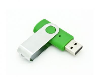 16GB USB-флэш накопитель Apexto U201 раскладной зеленый 361C OEM