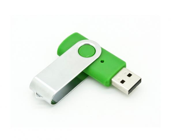 2GB USB-флэш накопитель Apexto U201 раскладной зеленый 361C OEM