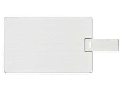 2GB USB-флэш накопитель Apexto U504EM алюминиевая кредитная карта, серебряная