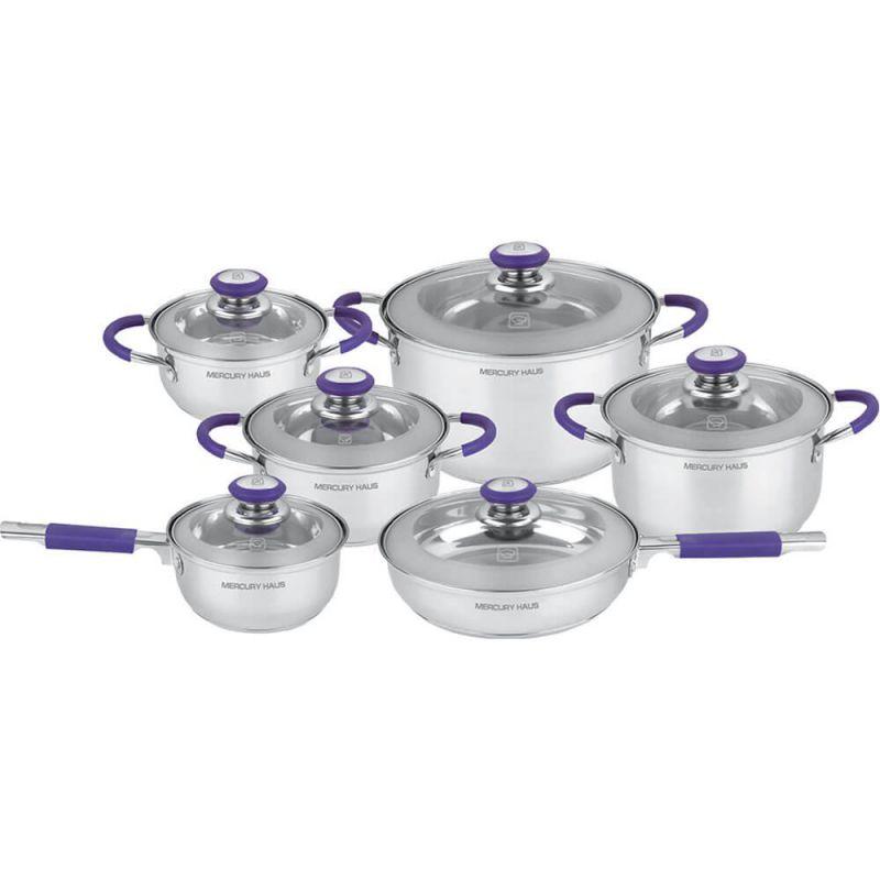 """Посуда Набор посуды """"MercuryHaus"""", MC - 7029 (2) 12 предметов"""