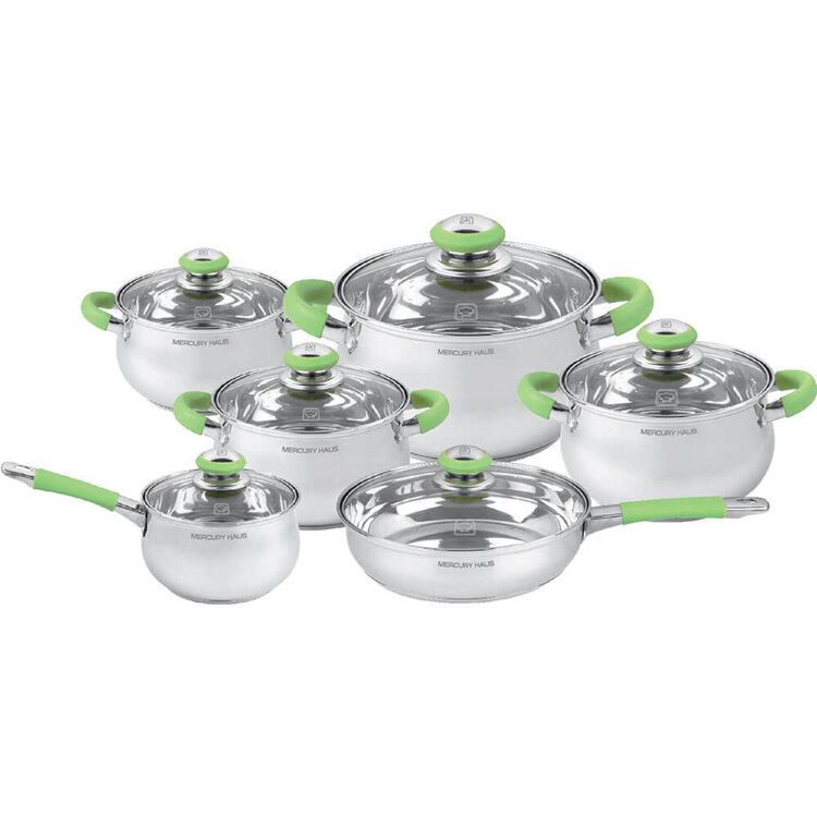 """Посуда Набор посуды """"MercuryHaus"""", MC - 7023 (2) 12 предметов"""
