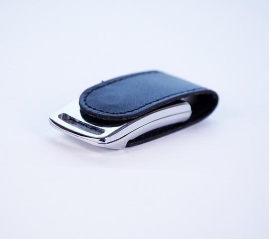 64GB USB-флэш накопитель Apexto U503I гладкая черная кожа OEM