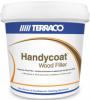 Шпатлевка по Дереву Terraco Handycoat Woodfiller 1кг Белая, Окрашиваемая для Заполнения Трещин в Деревянных Поверхностях