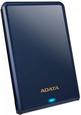 2TB внешний жесткий диск USB3.0 ADATA HV620S Slim толщина 11.5мм синий пластик