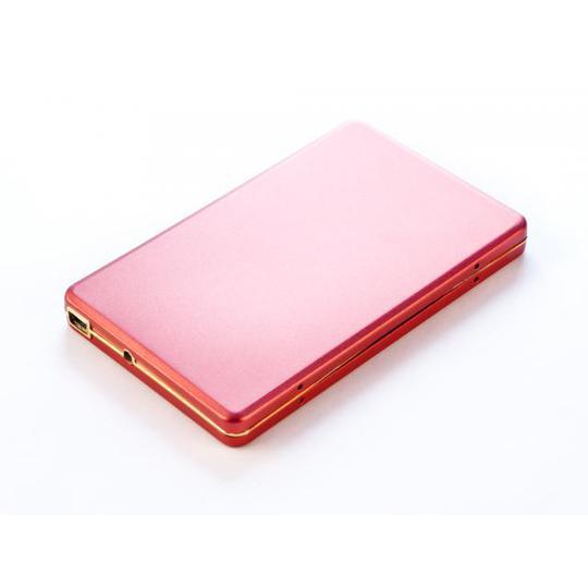 500GB внешний HD USB 2.0 Алюминиевый кейс U003M, SATA 2,5'' Красный