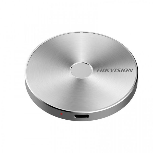 1TB Внешний SSD-накопитель USB3.1 Gen.2 Type-C Hikvision Биометрический, серебристый