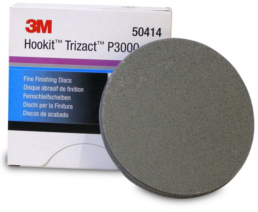 3М Trizact  P3000 Абразивный полировальный круг Hookit