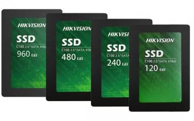 "120GB SSD накопитель Hikvision C100 2,5"" SATAIII 3D TLC 550/420 TBW40 3г/гар"