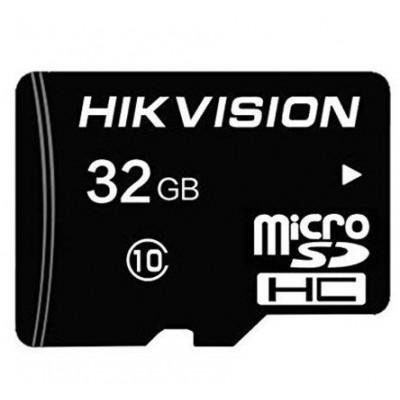 32GB Карта памяти MicroSDHC Hikvision Class 10 UHS-I V10 TLC R/W 92/20 MB/s без адаптера. 7 лет гар.