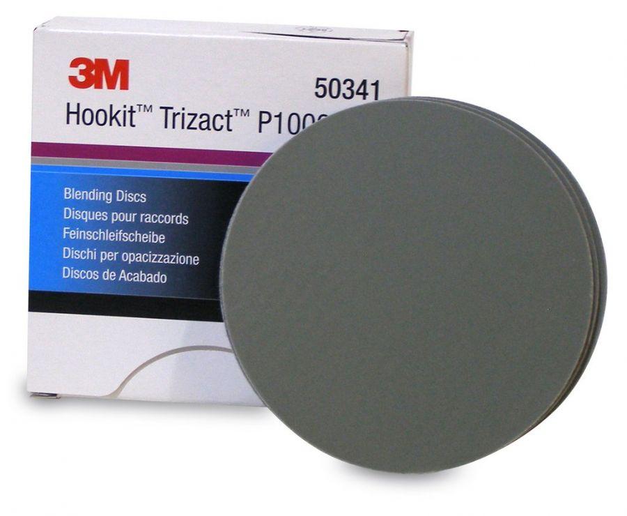 3М Trizact  P1000 Абразивный полировальный круг Hookit