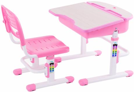 Комплект FunDesk Capri (ФанДеск) парта + стул для дошкольников