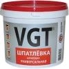 Шпатлевка Универсальная VGT 3.6кг до 7мм Акриловая для Внутренних и Наружных Работ / ВГТ Универсальная