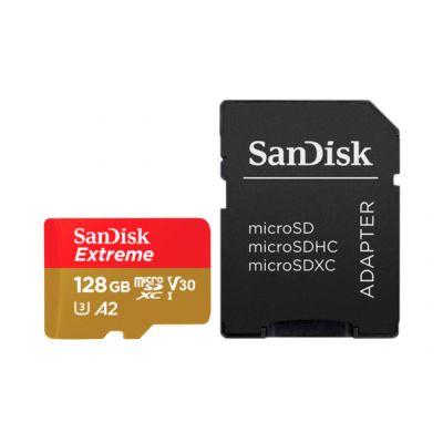 128GB карта памяти Extreme  microSDXC 160MB/s A2 Class 10  V30 UHS-I U3 +SD Adapter
