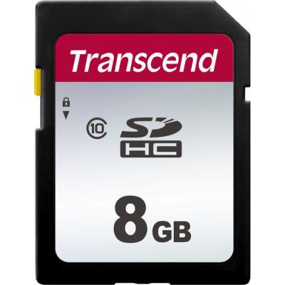 8GB карта памяти SDHC Class10 Transcend