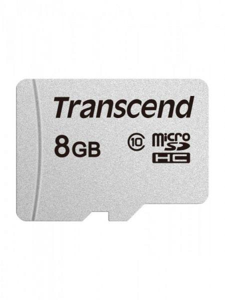 8GB Карта памяти MicroSDHC Class10 Transcend без адаптера