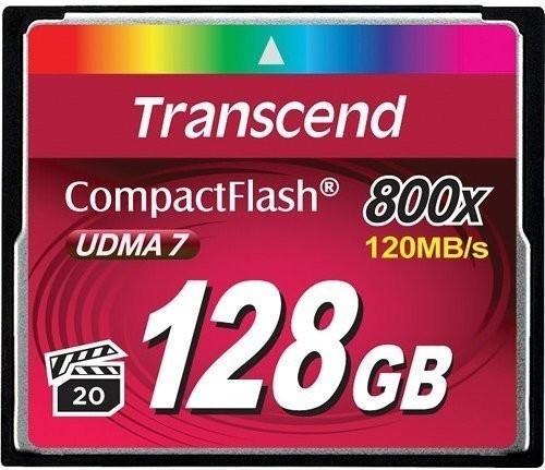 128GB карта памяти CF Transcend Ultra Speed 800X