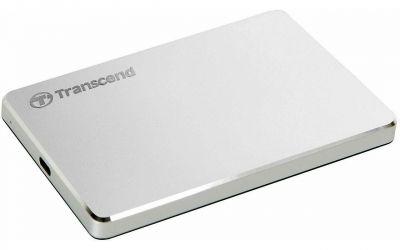 1TB USB3.1 Gen.1 Накопитель на жестком диске Transcend StoreJet 25C3S тонкий алюминиевый