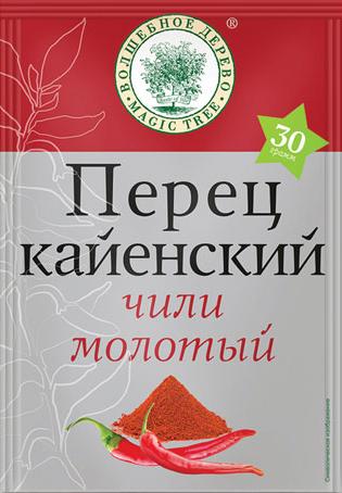ВД Перец КАЙЕНСКИЙ чили молотый 30г