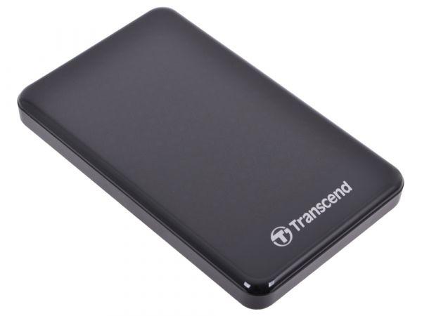 """2TB USB3.0 внешний накопитель Transcend StoreJet 2.5"""" A3K черный"""