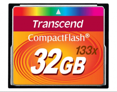 32GB карта памяти CF Transcend Ultra Speed 133X
