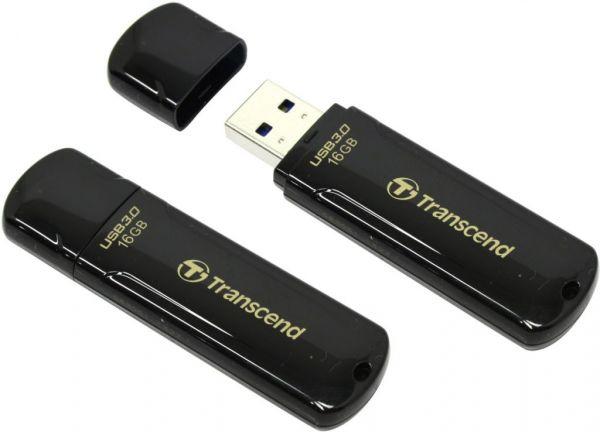 16GB USB3.0-flash накопитель Transcend Jetflash 700 черный