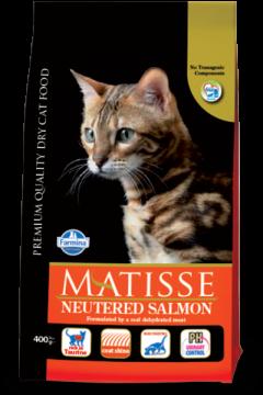 Matisse Neutered Salmon & Tuna (лосось с тунцом для стерилизованных кошек)