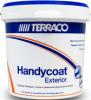 Шпатлевка Фасадная Крупнозернистая 5кг Terraco Handycoat Exterior Coarse Полимерная, Быстросохнущая / Террако