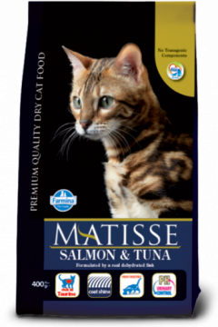 Matisse Salmon & Tuna (Лосось+тунец для взрослых кошек)