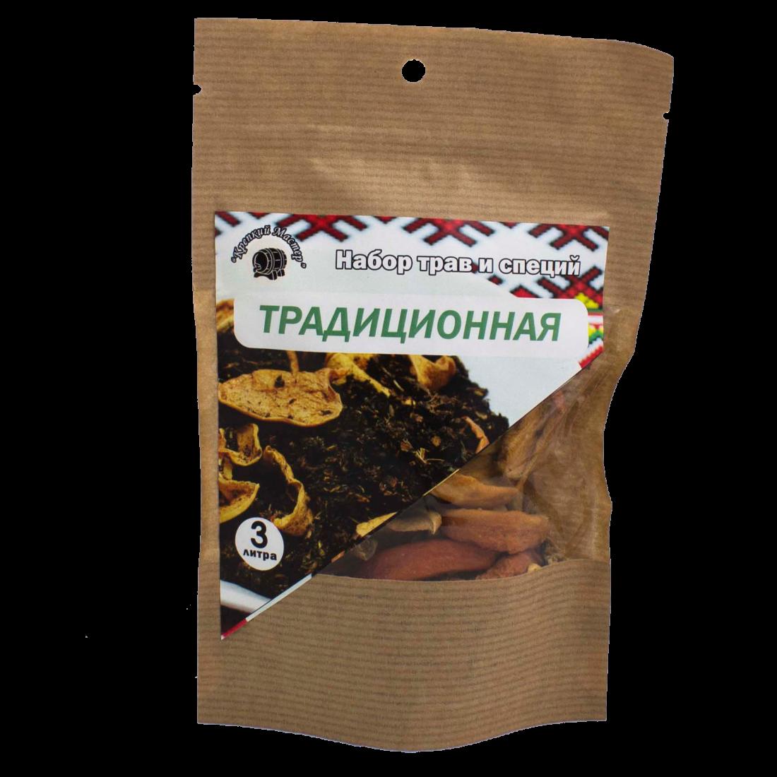 """Набор для настойки """"Традиционная"""", на 3 литра (КМ)"""