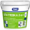 Шпатлевка 2-в-1 Текс 4кг от 0.2 до 5мм для Внутренних Работ