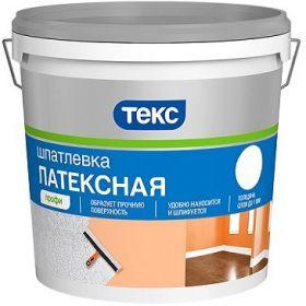 Шпатлевка Латексная Текс Профи 5кг до 1мм для Внутренних Работ