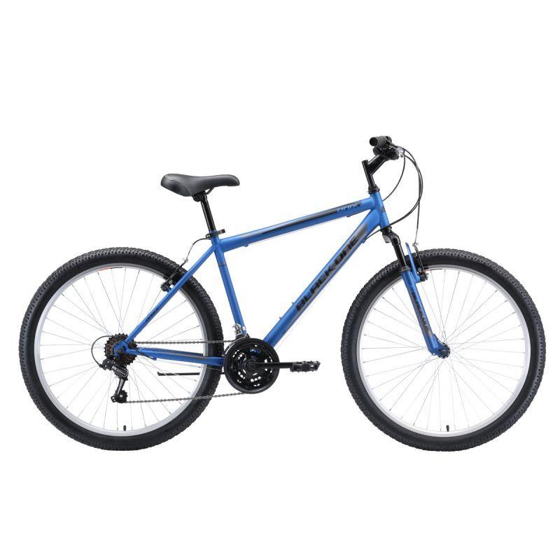 Велосипед BLACK ONE Onix 26 Голубой/серый/чёрный (H000016579)