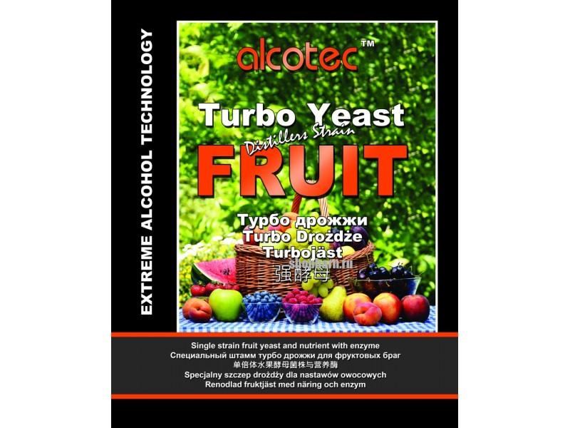 Турбо-дрожжи Alcotec FRUIT Turbo, 60 гр
